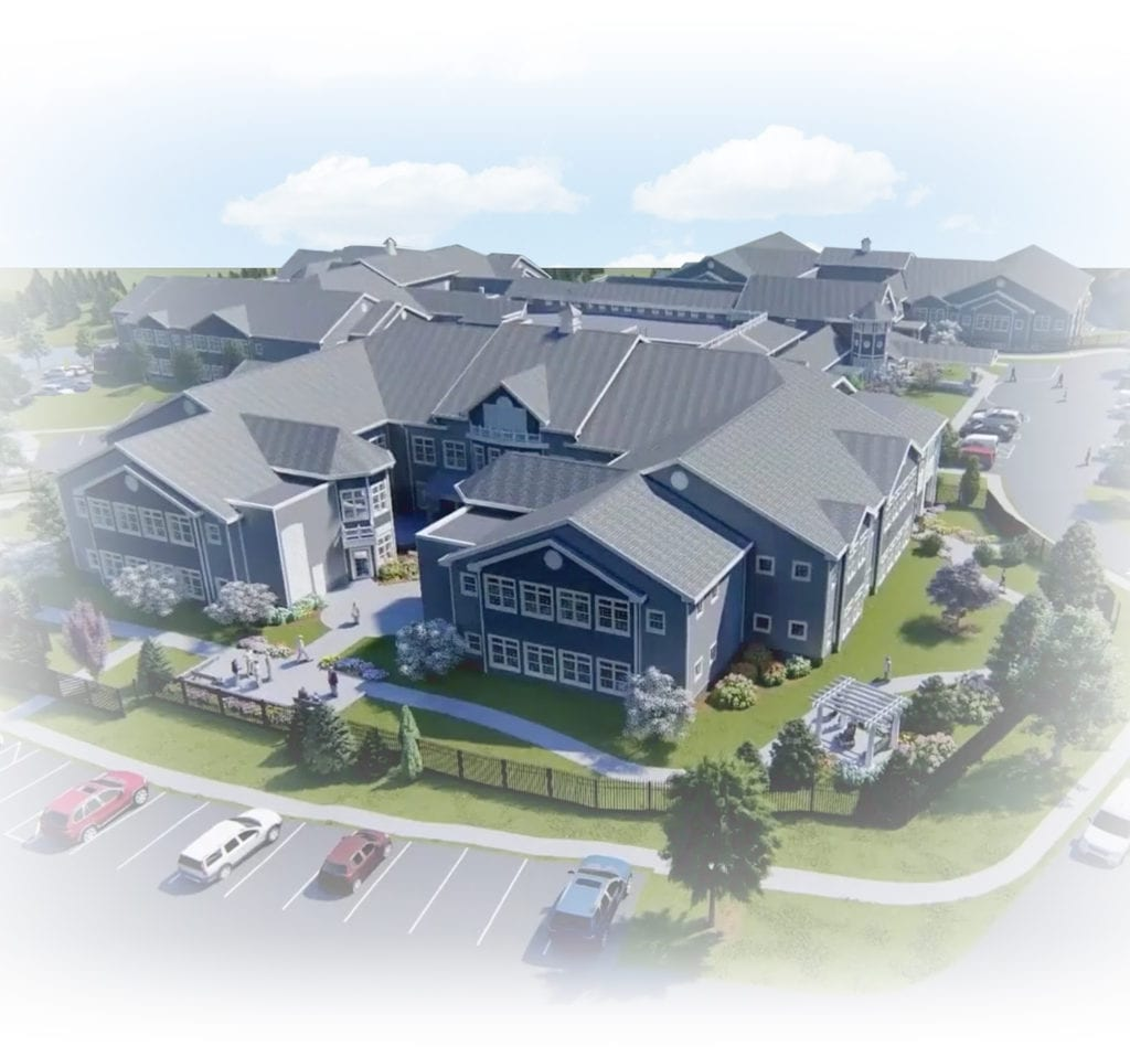MVH Augusta New Home aerial view graphic